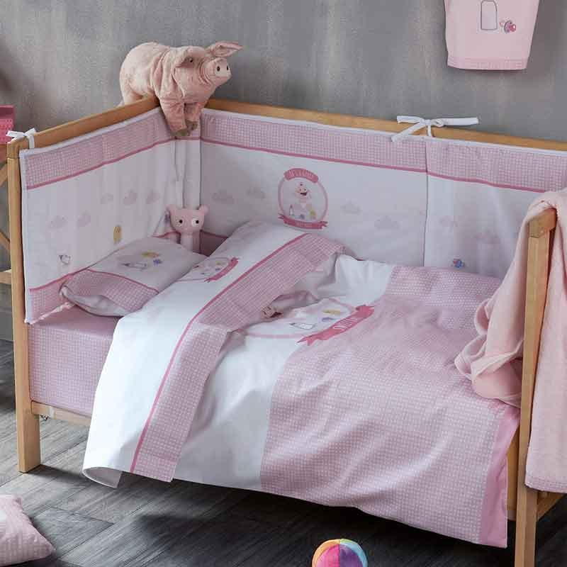 Σετ Παπλωματοθήκη Βρεφική Kentia Sweet Baby 14