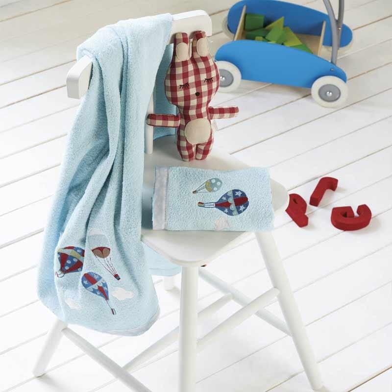 Σετ πετσέτες βρεφικές 2τμχ KENTIA Vento