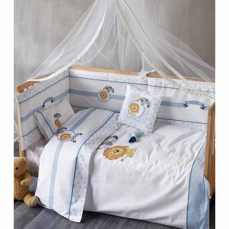 Σετ Παπλωματοθήκη Βρεφική Kentia Welcome Baby 19